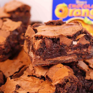 Terrys Chocolate Orange Brownie
